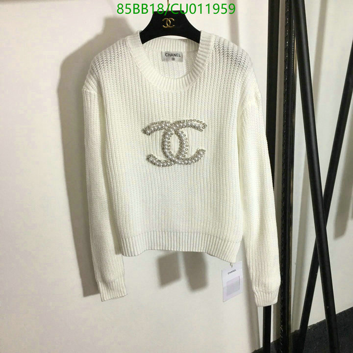 CHANEL new hollow round neck pullover sweater pearl diamond logo sweater cute girl blouse women's clothing 20210107