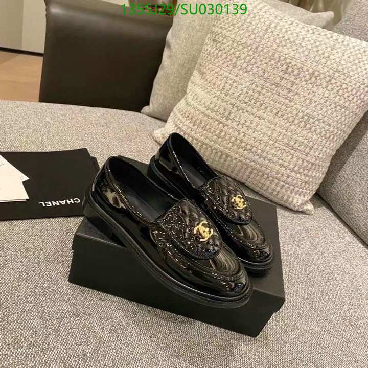 Chanel classic loafers shiny casual shoes fashion luxury deep-mouth shoes women's shoes