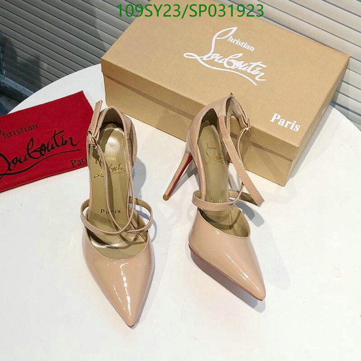 Christian Louboutin office ladies pointed toe high heels 2021 designer sexy women's high heels women's shoes