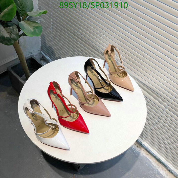 Christian Louboutin new high-heeled shoes pointed toe women's shoes sexy women's shoes