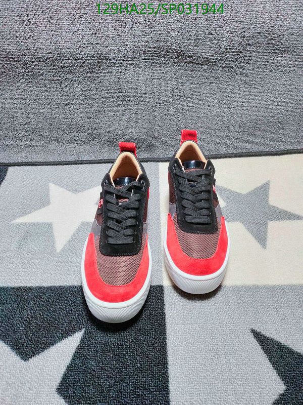 Christian Louboutin fashionable and comfortable ladies shoes men's Sneakers CL men's and women's shoes