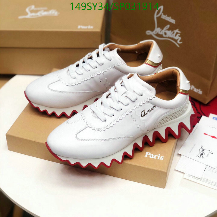 Christian Louboutin low-top shoes  men's and women's shoes outdoor casual shoes