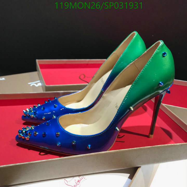 Christian Louboutin Pointed High Heels Leopard Print Shoes Autumn High Heels Female Classic Stiletto Fashion Party Shoes