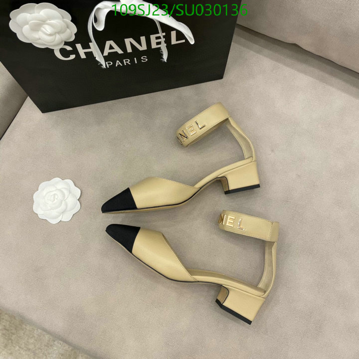 CHANEL women's shoes brand luxury leather straps thick high heel sandals pointed high heels party shoes