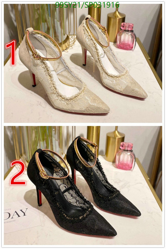Christian Louboutin spring and summer red bottom high heels women's shoes comfortable and breathable pointed shoes