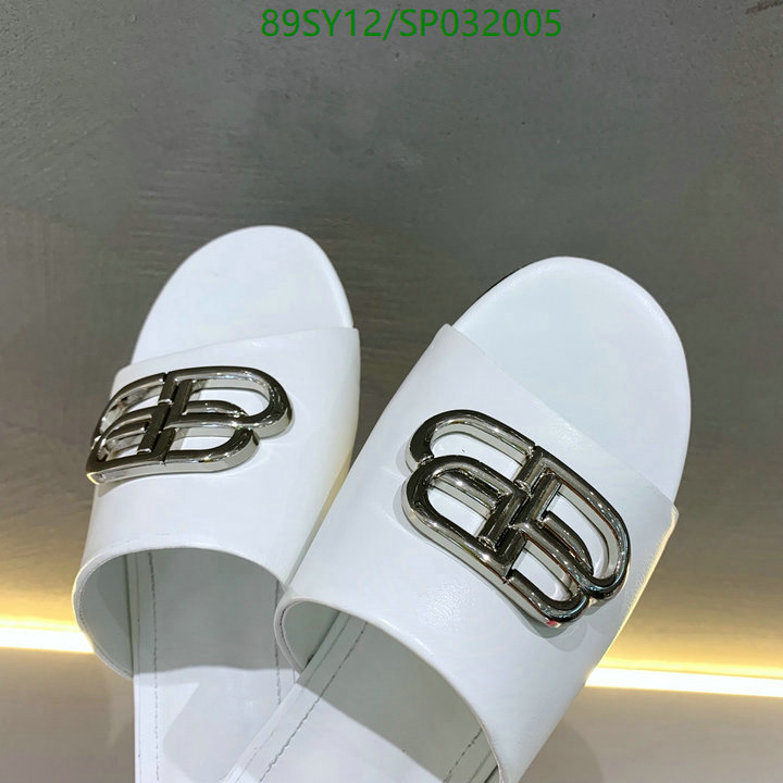 Balenciaga fashion women's shoes indoor flat shoes women's summer beach slippers home slippers