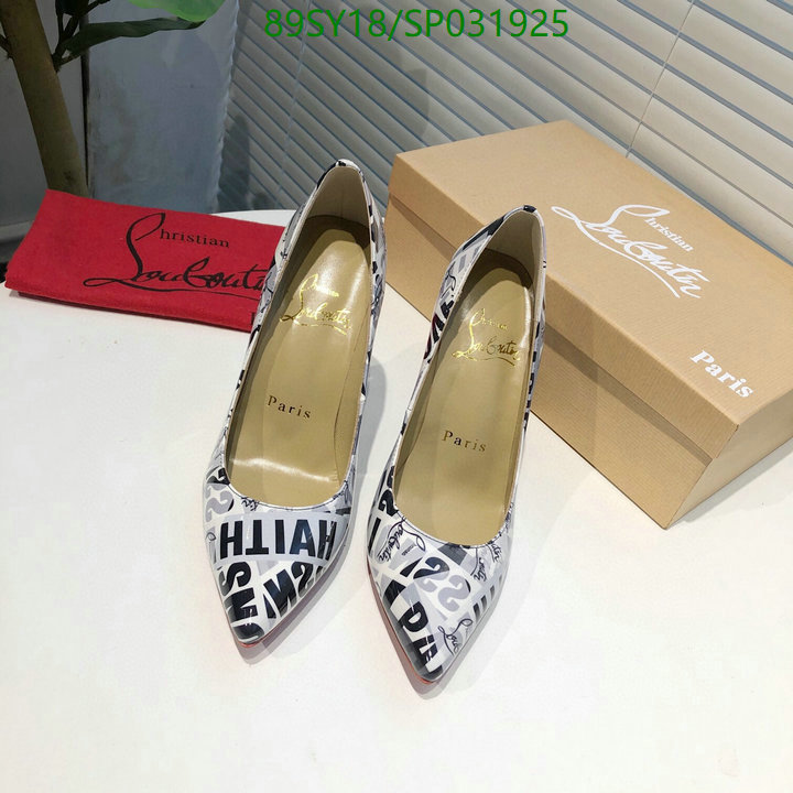 Christian Louboutin spring and autumn new ladies stiletto high heels shoes pointed shallow mouth sexy women's shoes
