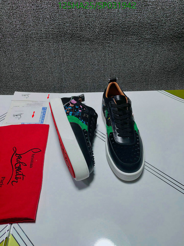 Christian Louboutin Men's and women's outdoor sports shoes lightweight and comfortable casual shoes CL couple shoes