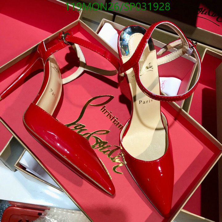Christian Louboutin women's party high heels red bridal shoes female pointed high heels CL women's shoes