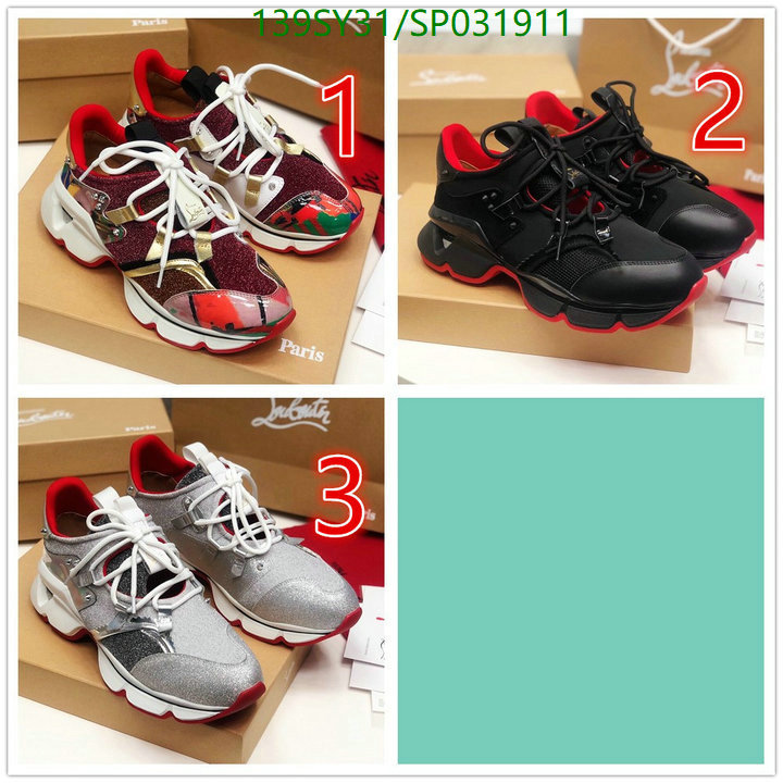 Christian Louboutin red bottom couple shoes sports casual shoes CL shoes