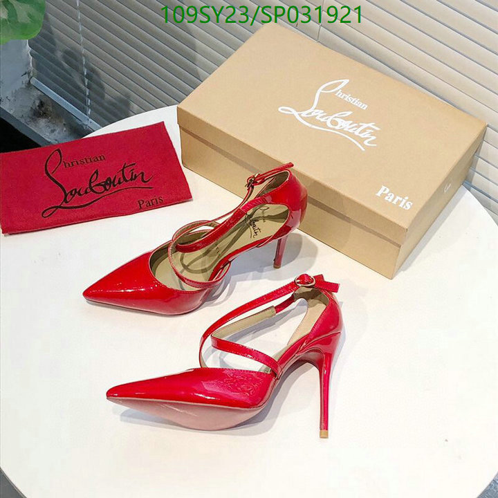 Christian Louboutin 2021 ladies pointed high heels 12 cm black high heels wedding shoes CL women's shoes