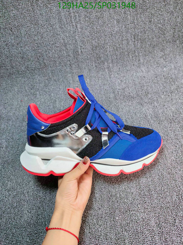 Christian Louboutin casual sports shoes trend student running shoes couple shoes CL shoes
