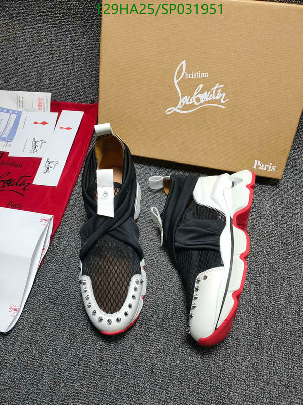 Christian Louboutin outdoor hiking shoes comfortable and breathable men's and women's sports shoes casual shoes