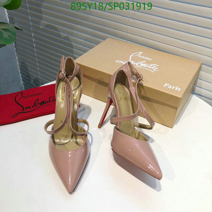 Christian Louboutin sexy ladies wedding shoes high heels shoes pointed toe stilettos