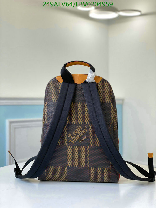 Louis Vuitton Classic Fashion Backpack Travel Backpack LV Bag N40380