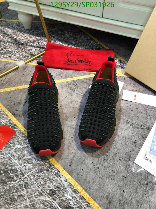 Christian Louboutin Luxury Men's Shoes Designer Breathable Lightweight Casual Shoes Red Sole Latest Casual Couple Shoes