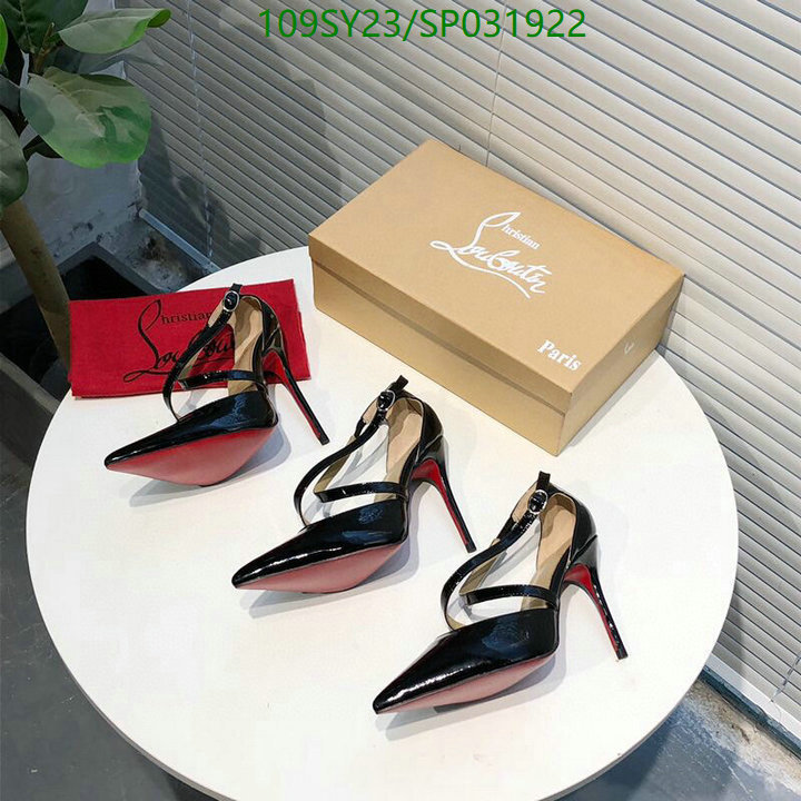 Christian Louboutin luxury ladies high heels pointed toe dress shoes CL women's shoes