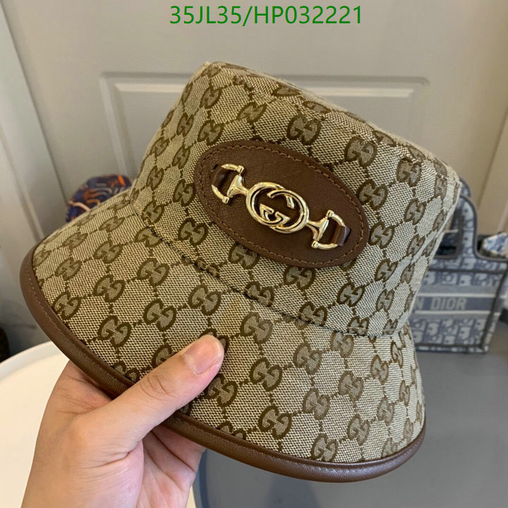 Gucci new men's and women's bucket hat outdoor fisherman cap beach hat