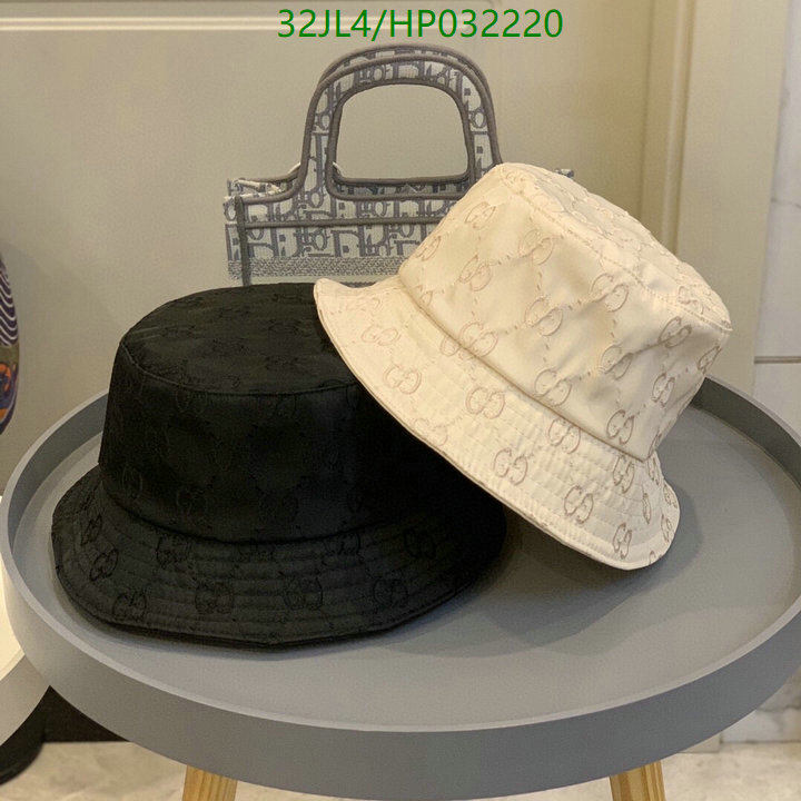Gucci black and white solid color bucket hat men's and women's hat